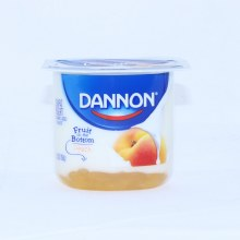 Dannon Peach Yogurt