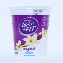Dannon Light & Fit Vanilla