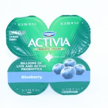 Activa Blueberry Yogurt 4pk