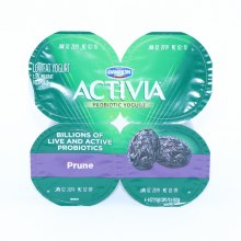 Dannon  Activia Prune Probiotic Yogurt  Lowfat Yogurt  4 4oz Cups  Gluten Free  Calcium  and  Vitamin D for Strong Bones 1 lb