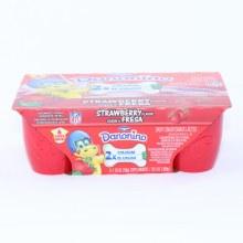 Dannon  Strawberry Danonino  6 1.76oz Cups  Gluten Free  Vitamin D  10.5 oz