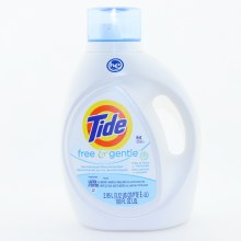 Tide He Free Detergent