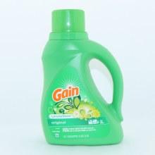 Gain Original Detergent +Aroma Boost, 32 Loads 50 oz
