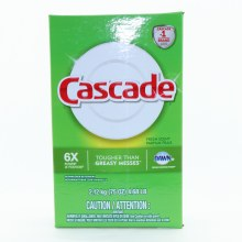 Cascade With Dawn Grease Fighting Power Dishwasher Detergent