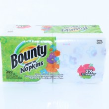 Bountry Prints Quilted Napkins  200 ct