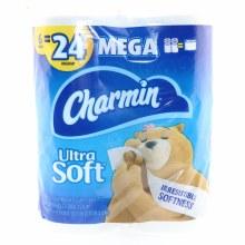 Charmin Ultra Soft 6 Rolls