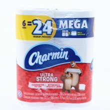 Charmin Ultra Strong Bathroom Tissue 6 Mega Rols