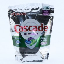 Casacade Platinum Fresh Action Scent Pods 21 Count  11.7 oz