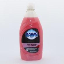 Dawn Ultra Gentle Clean Dishwashing Liquid, Tough on Grease, Easy on Hands, Pomegranate Splash Scent 19.4 oz