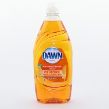Dawn Ultra Antibacterial Hand Soap Cleans Grease 2X More Orange Scented