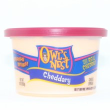 Owls Nest Cheddary Cheese Spread Made with Real Cheddar