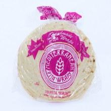 Mediterranean Handmade Pita Wraps  10 pita wraps  32 oz