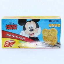 Kellogg's Eggo Mickey Mouse Homestyle Waffles, Colors and Flavors from Natural Sources 12.3 oz