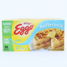 Kellogg's Eggo Buttermilk Waffles, No Artificial Colors or Flavors 12.3 oz