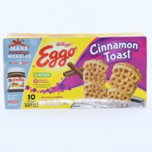 Kelloggs Eggo Cinnamon Toast Waffles No Artificial Colors or Flavors 10.75 oz