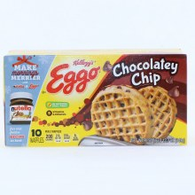 Kelloggs Eggo Chocolatey Chip Waffles No Artificial Colors or Flavors 12.3 oz