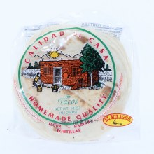 El Milagro Tortilla Casera Taco, Flour Tortillas for Tacos  16 oz