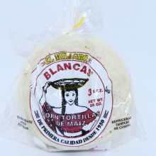 El Milagro Blancas, Corn Tortillas. Three Dozen. 28 oz.  28 oz
