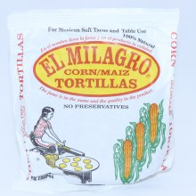 El Milagro Corn Tortillas 10 oz