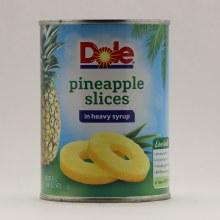 Dole Sliced Pineaple/syrup