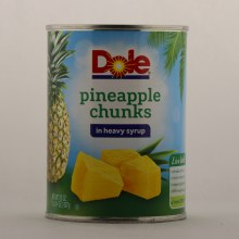 Dole Chunk Pineapple/syrup