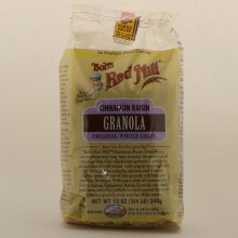 Bob's Red Mill Cinnamon Raisin Granola 12 oz