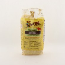 Bobs Red Mill Coarse Grind Cornmeal Whole Grain  Stone Ground