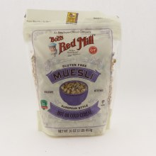 Bobs Red Mill Gluten Free Muesli