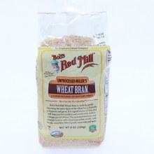 Bob's Mill Unprocessed Miller's Wheat Bran  8 oz