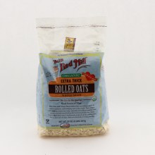 Bob's Red Mill Organic Estra Thick Rolled Oats 32 oz