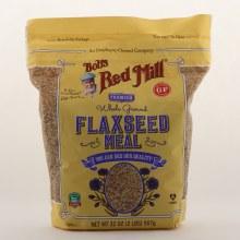 Bob's Red Mill Premium Whole Ground Flaxseed Meal Gluten Free, Non GMO 32 oz