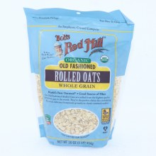 Bob's Red Mill Organic Old Fashioned Rolled Oats, Whole Grain  16 oz