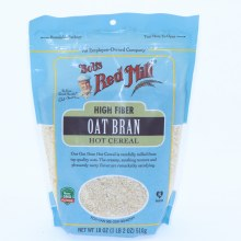 Bobs Red Mill High Fiber Oat Bran Hot Cereal