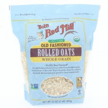 Bobs Organic Rolled Oats