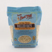 Bobs Red Mill Extra Thick Rolled Oats Whole Grain
