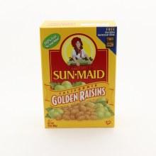SunMaid California Golden Raisins & No Sugar Added 15 oz