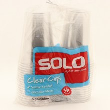 Solo Clear Plastic Cups