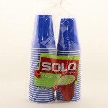 Solo Grip Cups Red Blu Yel