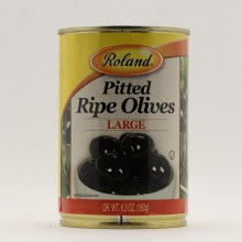 Roland Pitted Olives L