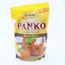 Roland  Panko Whole Wheat Bread Crumbs 7 oz