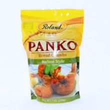 Roland Panko Italian Style Bread Crumbs   7 oz