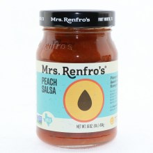 Mrs Renfros Peach Salsa