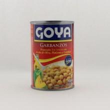 Goya chick peas in sauce 15 oz