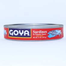 Goya Sardines in Hot Tomato Sauce, Wild Caught, 15 oz  15 oz