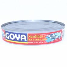 Goya Sardines in Hot Tomato Sauce, 15 oz 15 oz