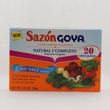 Goya Sazon Natural Ycomp.