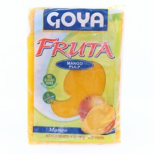 Goya Fruta Frozen Mango Pulp  No Sugar Added  Gluten Free