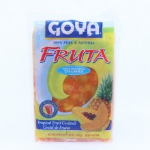 Goya Fruta Frozen Tropical Fruit Cocktail Chunks