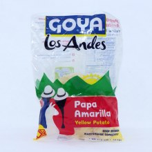 Goya Los Andes Frozen Yellow Potato 16 oz