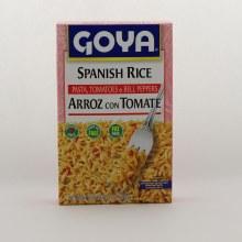 Goya spanish rice with tomato 7 oz